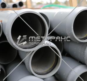 Труба канализационная 100 мм в Гомеле